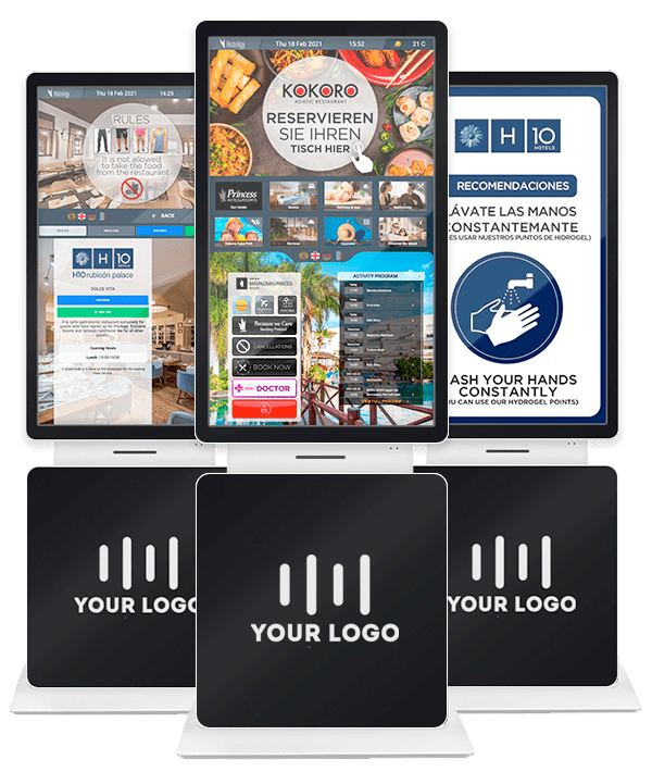 Totems and Interactive Kiosks for Hotels