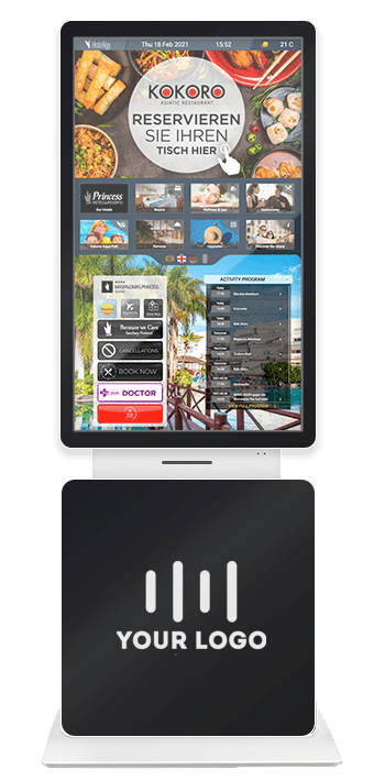 Interactive Totem Home Screen